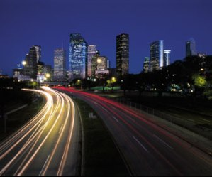 Houston, Texas, skyline.